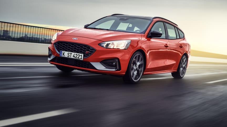 Her er nye Ford Focus ST stasjonsvogn