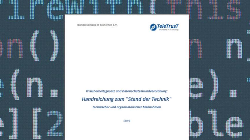 Aktuelle technische und organisatorische Maßnahmen zum IT-Sicherheitsgesetz sowie Datenschutzgrundverordnung