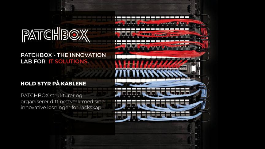 Hold styr på kablene med PATCHBOX