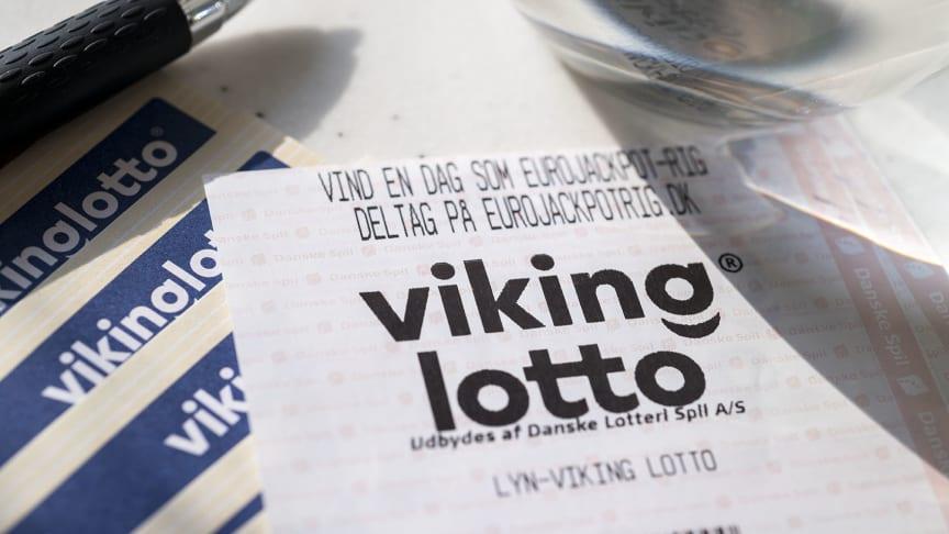 Dansker vinder rekordstor gevinst i Vikinglotto