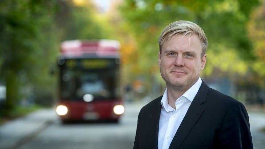 Regionrådet Tomas Eriksson föreslagen till partistyrelsen i Miljöpartiet