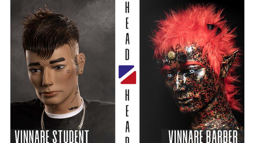 """In An Unequal Society"" och ""Redios Conqueror Mullet"" blev juryns favoriter i Head2Head Barber Challenge!"