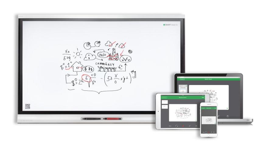 SMART kapp iQ - samarbeta på distans på digital whiteboard i realtid