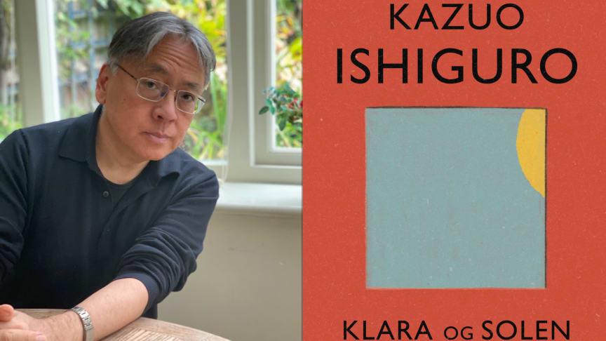 Kazuo og boken (Foto: Lorna Ishiguro)