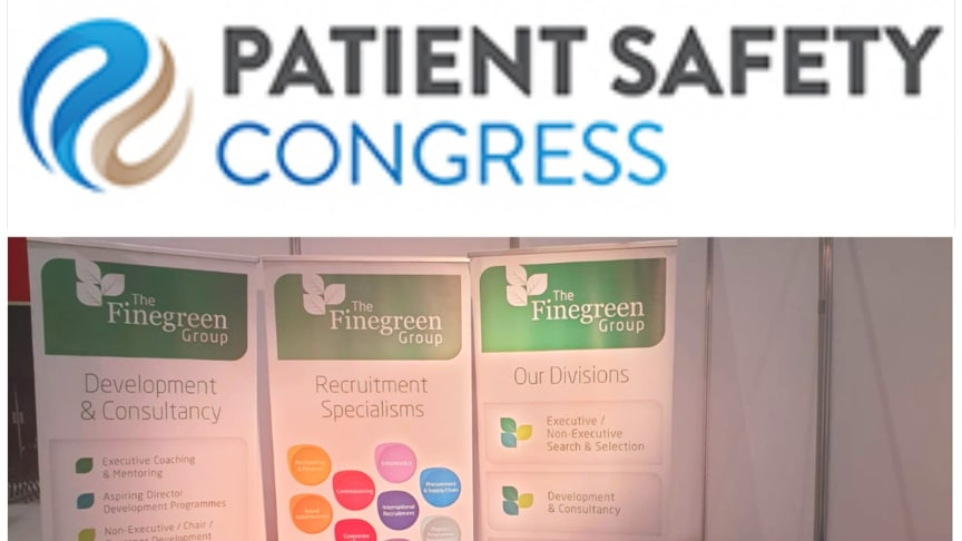 Fingreen at the Patient Safety Congress
