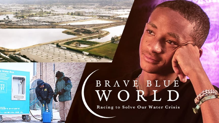 Aquaporin featured in new Netflix documentary about solutions to the world's water crisis