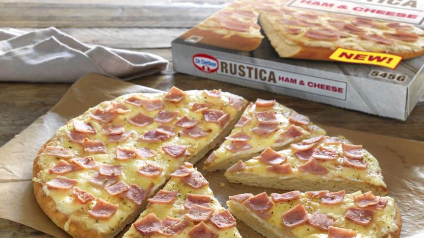 Dr. Oetker tar «bianca» pizzasaus inn i frysedisken