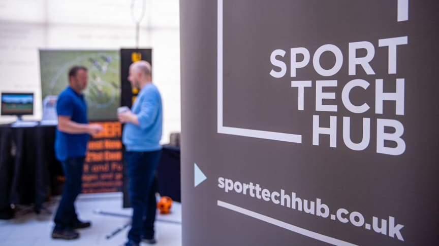 A Sport Tech Hub banner at Active London 2019