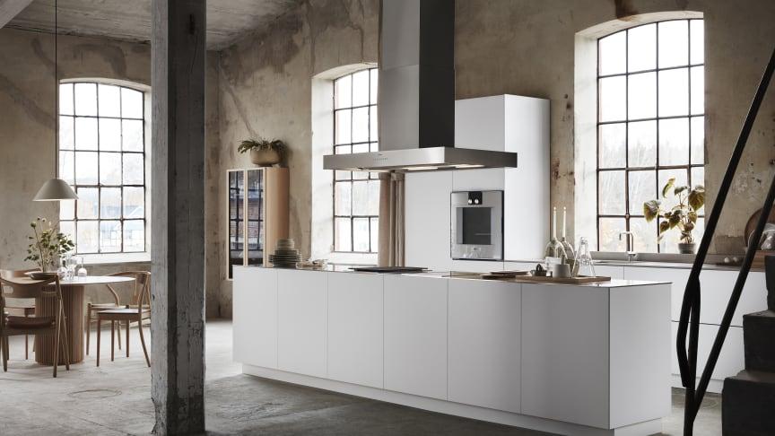 Nyhet S45 - unik köksö med minimalistiskt och avskalat intryck