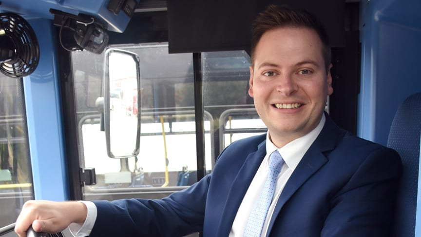 Martijn Gilbert, managing director at Go North East