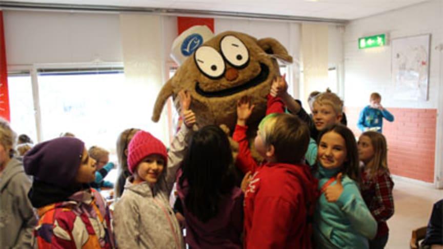 Linköpings skolbarn äter fisken hållbar