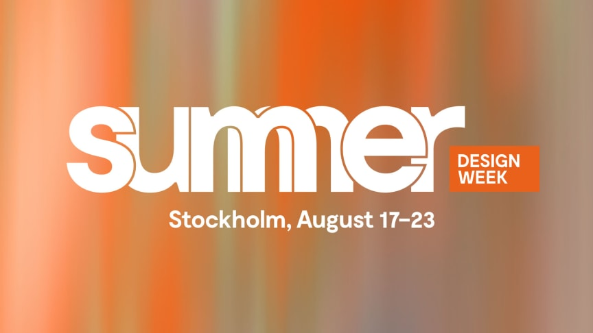 Summer Design Week offers the best in Scandinavian design right now