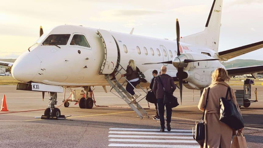Air Leap utökar tidtabellen till Halmstad och Ängelholm från Bromma