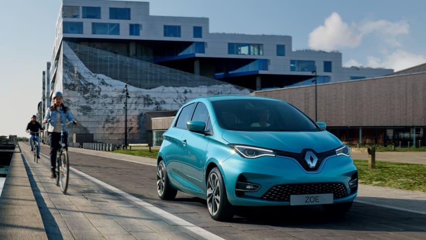 Nya Renault ZOE kommer i ny prisvärd version; ZOE-Go