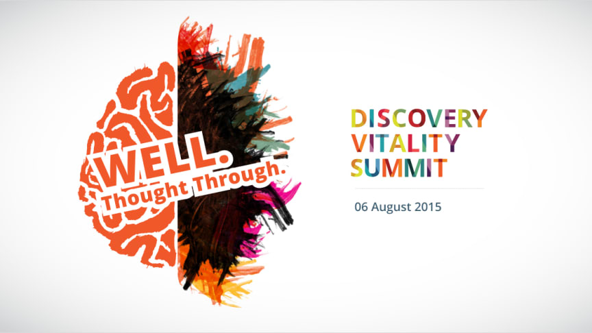 The Discovery Vitality Summit brings the world's foremost experts on health and wellness to South Africa