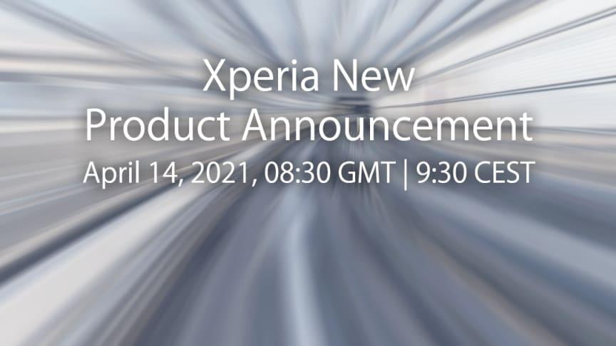 Sony inviterer til lancering af nye Xperia-produkter