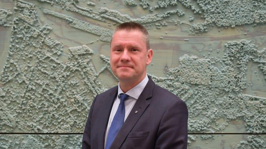 Johan Wifralius (SD), gruppledare kollektivtrafiknämnden Region Skåne