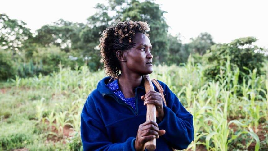 Josephine Nzisa har startat företag genom Hand in Hand. Foto: Lena Granefelt
