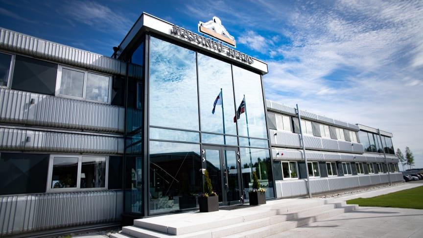 Norrlandsföretaget Masonite Beams slår nya rekord i Sverige