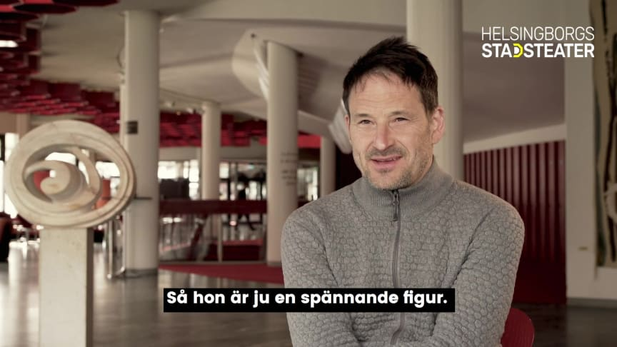 Örjan Andersson - regissör och koreograf - berättar om Drottningens juvelsmycke