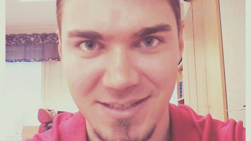 Jussi Tanttu aloitti syksyllä uunituoreena CHL-fanilähettiläänä.