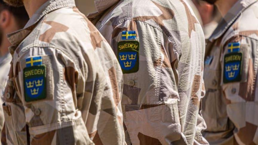Foto: Marcus Nilsson/ Försvarsmakten.