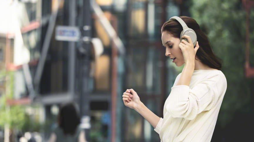 Sony lanserar nästa generations brusreducerande hörlurar