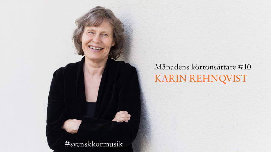 Karin Rehnqvist. Foto: Agnes Thor.