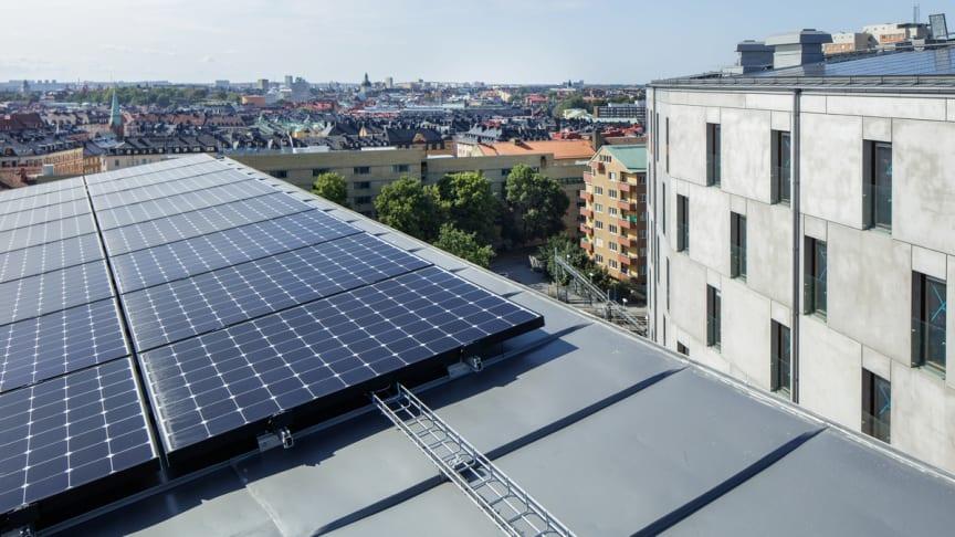 """Einar Mattsson har vunnit priset """"Best Property Innovation and Sustainability Award 2018""""  Foto: Åke Gunnarssson"""