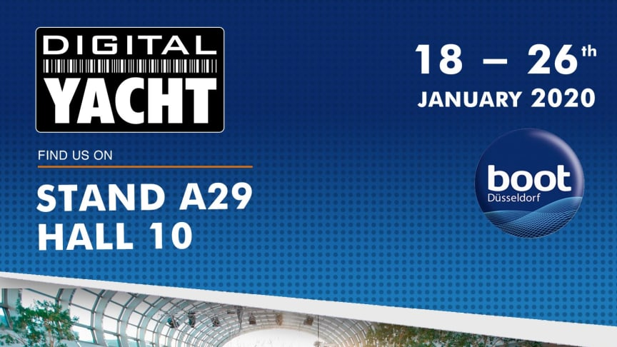 Find Digital Yacht at Boot 2020 - Hall 10 A29