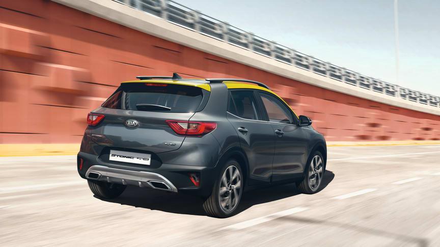 Designet af Stonic GT Line giver bilens urban crossover look en mere sporty kant