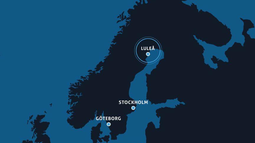 Med Netnod IX Luleå kan tjänsteleverantörer och operatörer utbyta internettrafik lokalt i Luleå istället för att gå via södra Sverige.