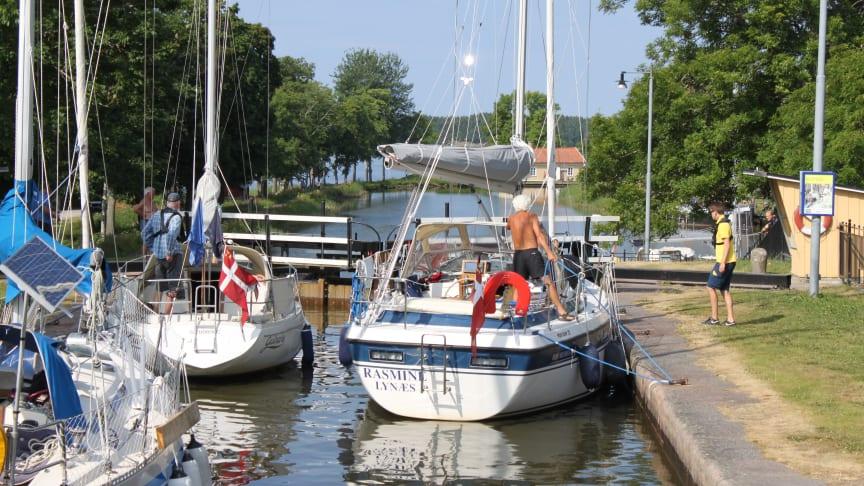 Näringsministern besöker Göta kanal den 26 juni.