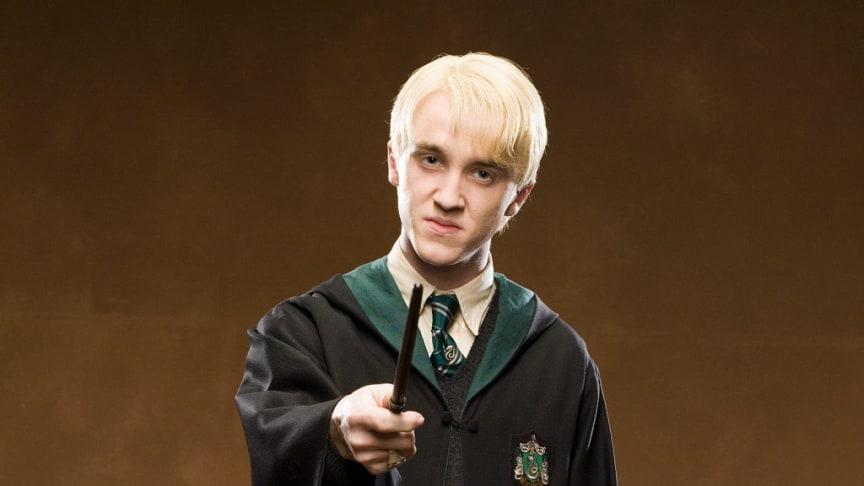 Tom Felton som Draco Malfoy i Harry Potter