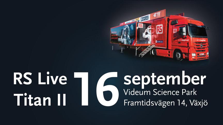 Tekniktung utställning besöker Videum Science Park