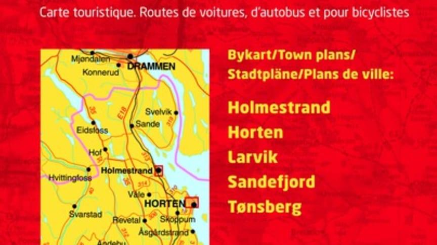 Cappelen Damms kart over Vestfold fylke kåret til beste kart i 2011!