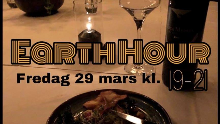 """Hotell Kristina anordnar egen """"Earth Hour""""."""