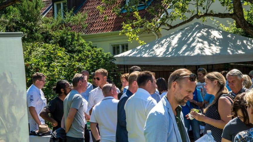 Bilden från Almedalen 2018