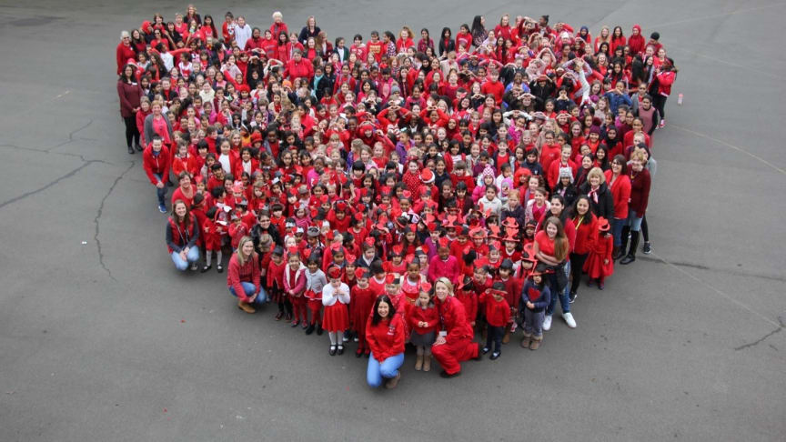 Little Hearts Matter are one of four charities who are set to receive £5,000