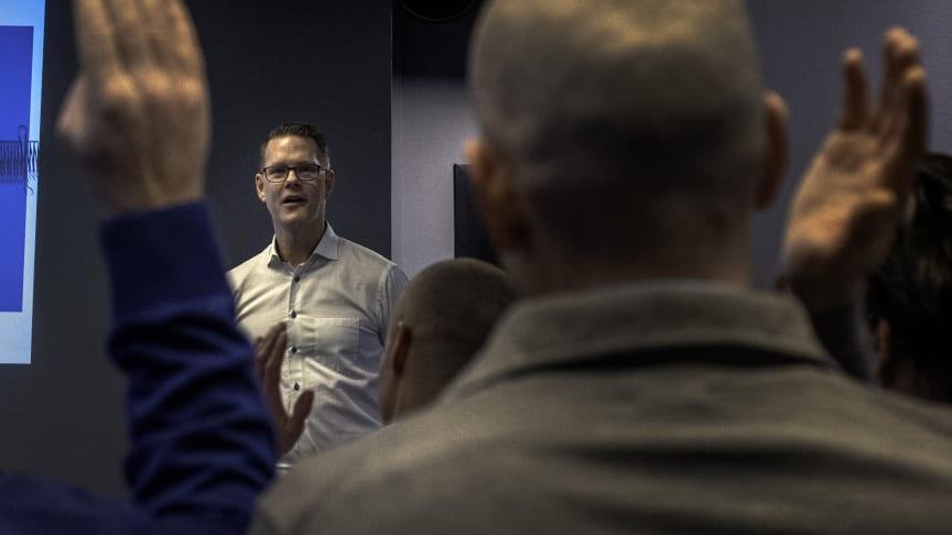 Stefan Fasth, innovation management officer på Atea. Foto: Simon Nestor