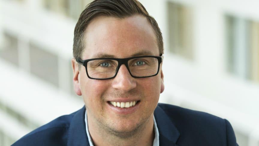 Daniel Toftskär blir vd för Bostadsbyggen AB i Jönköping