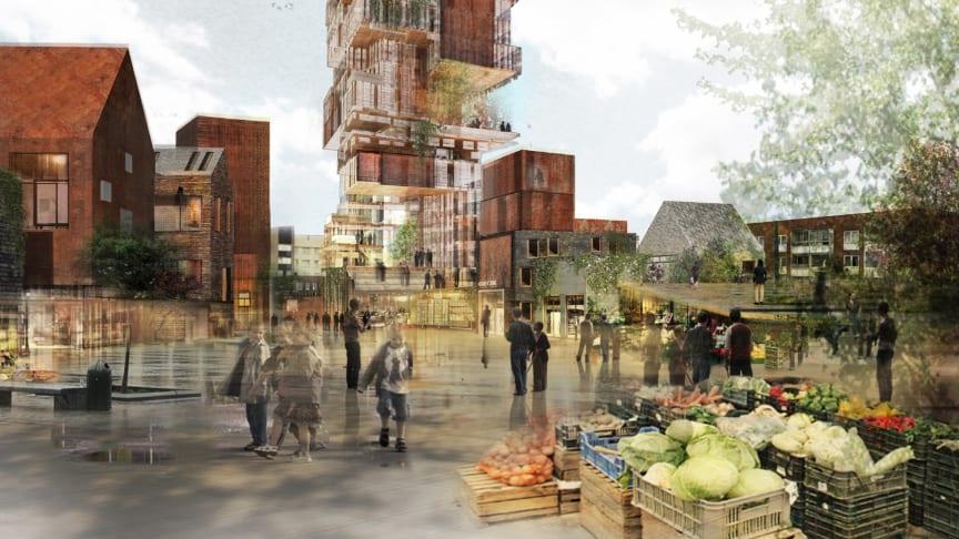 Nytt landmärke i Malmö – MKB:s unika satsning i Rosengård