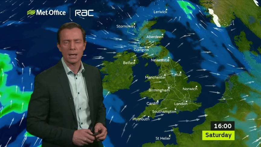 Driving home for Christmas? Here's your weather forecast running up to the big day