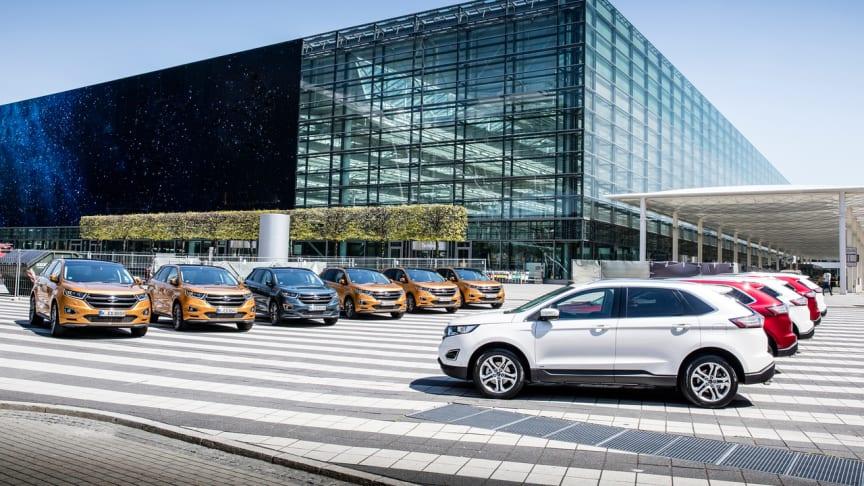 Fords bilsalg i Europa økte 7,5% i 1. halvår  - og er fortsatt største nyttekjøretøymerke