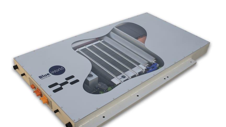 Blue World Technologies' methanol fuel cell hybrid box