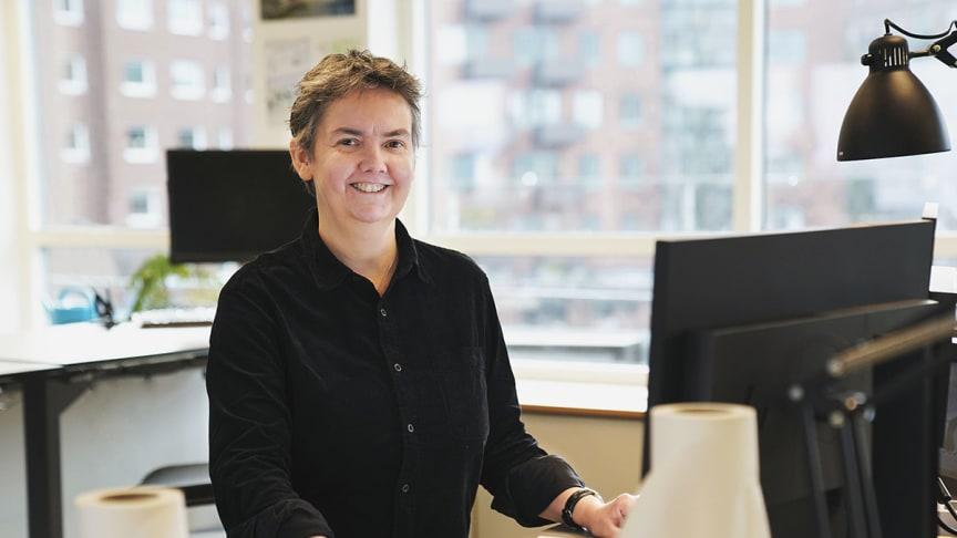 Catherine Hugosson, vårdarkitekt på Liljewall