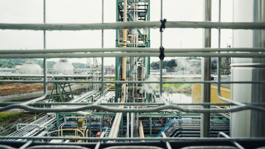 Nouryon introducerar en ny och mer hållbar teknologi för produktion av etylenaminer i Stenungsund