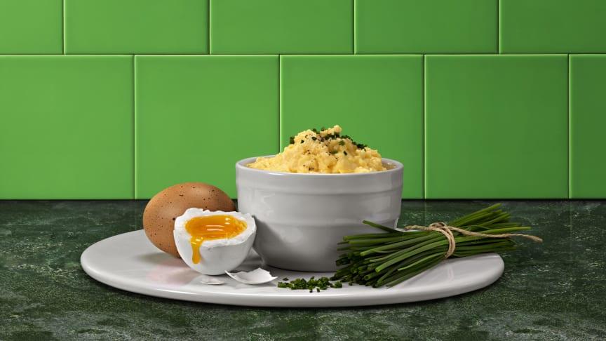 Preem satsar på äggröra!