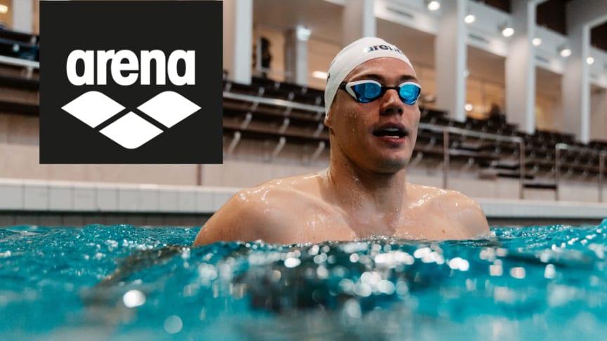 Suomen nopein Ari-Pekka Liukkonen ja huurtumattomat Swipe-uimalasit, Cobra Core Mirror SW.