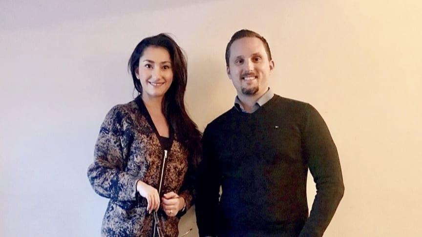 Base of Sweden, Jasmine Lundqvist och Carl Ahslund